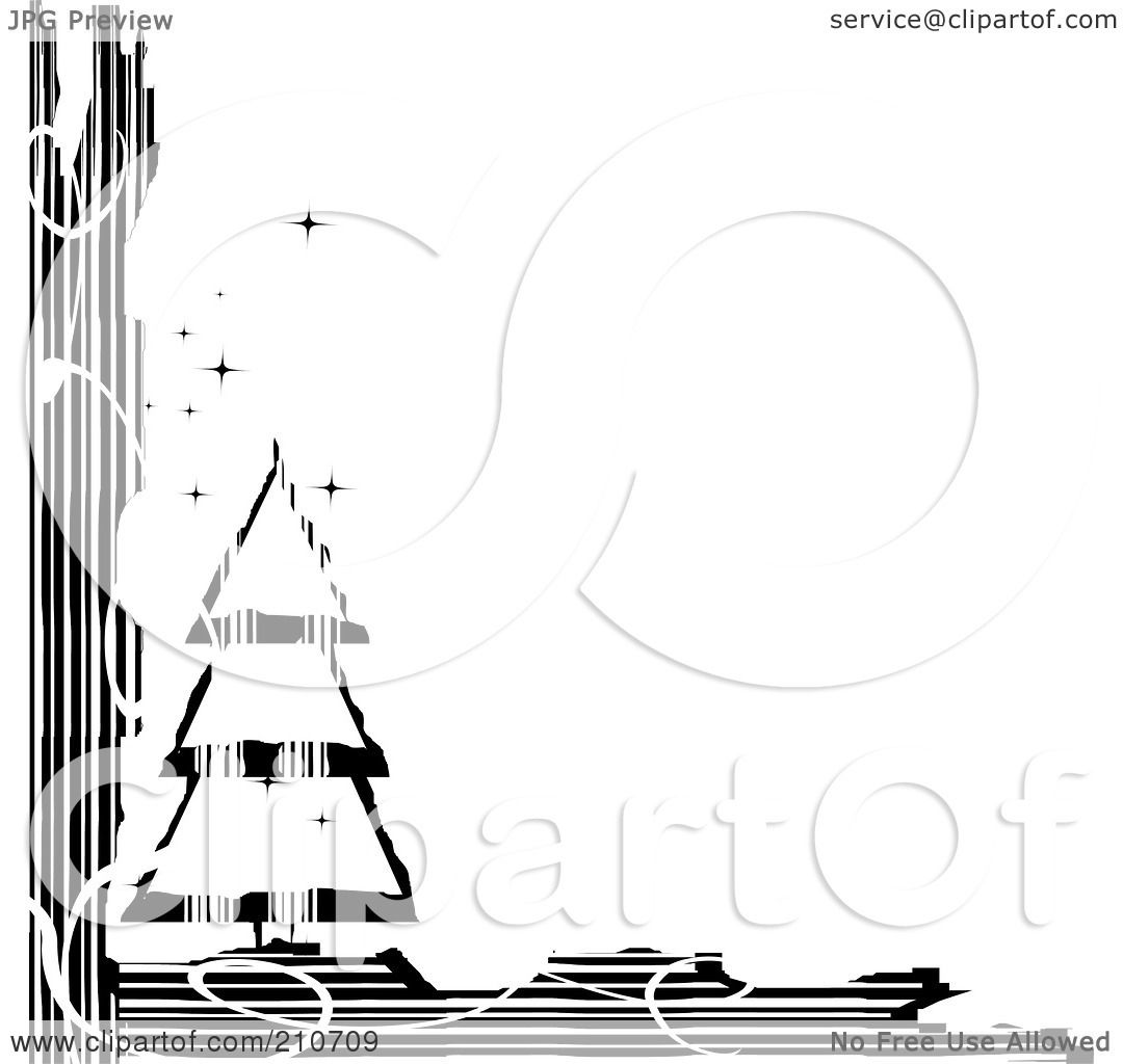 Royalty-Free (RF) Clipart Illustration of a Grungy Black ...
