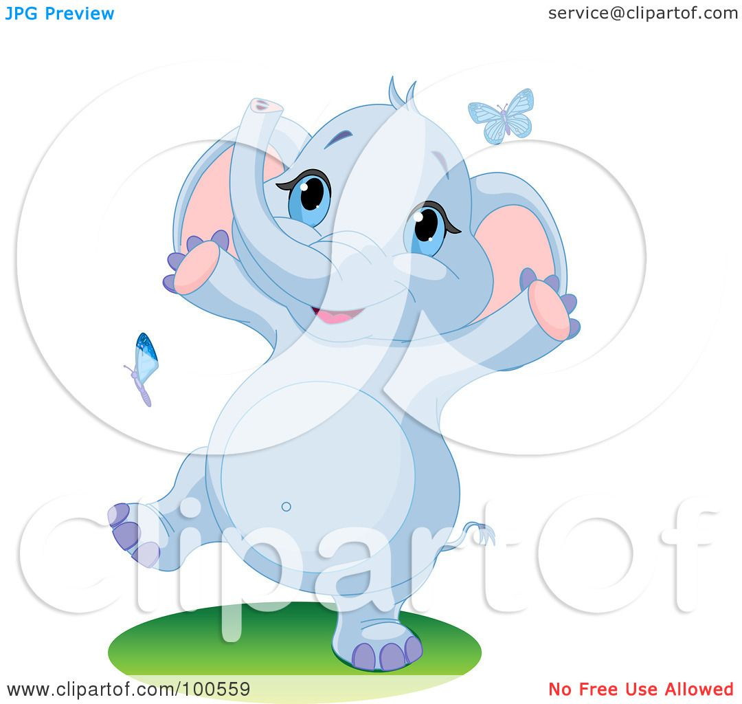 Royalty-Free (RF) Clipart Illustration of a Happy Baby ...