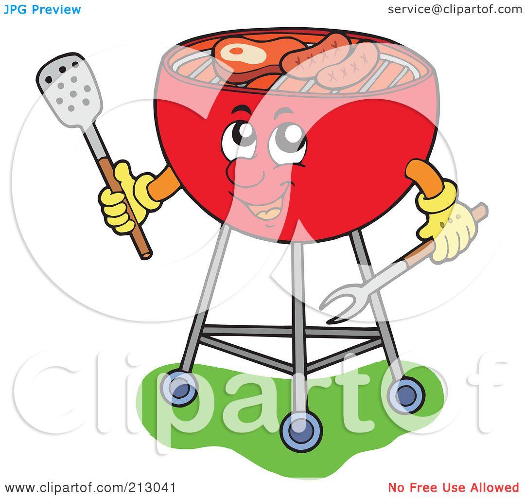 Bbq grill clipart