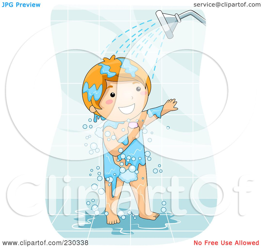 Royalty-Free (RF) Clipart Illustration of a Happy Boy ...