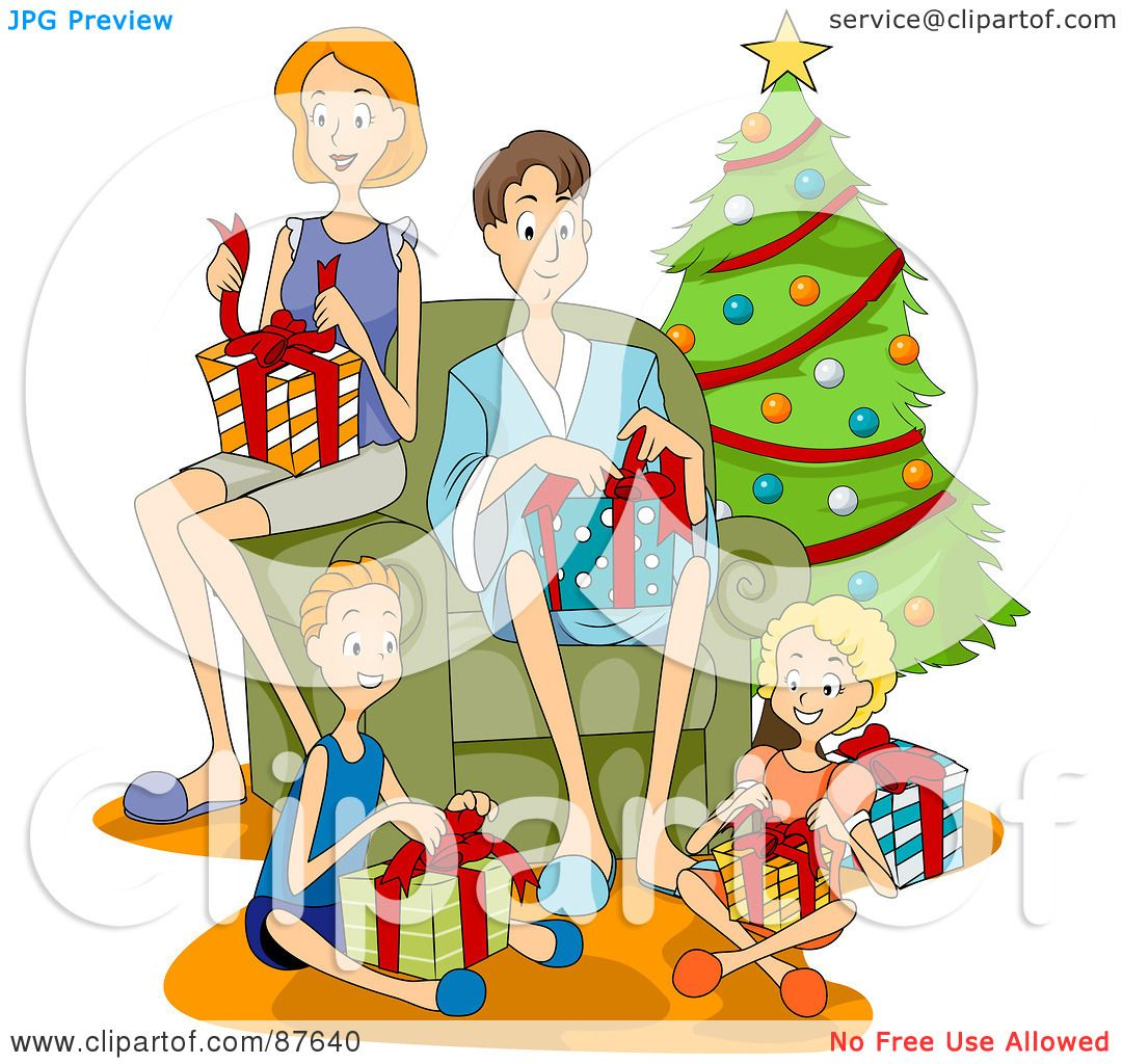 Royalty-Free (RF) Clipart Illustration of a Happy ...