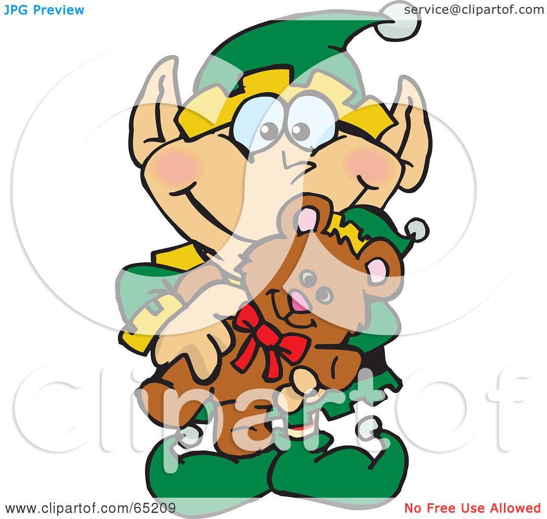 happy elf clipart - photo #35