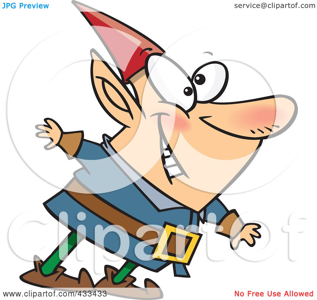 happy elf clipart - photo #29