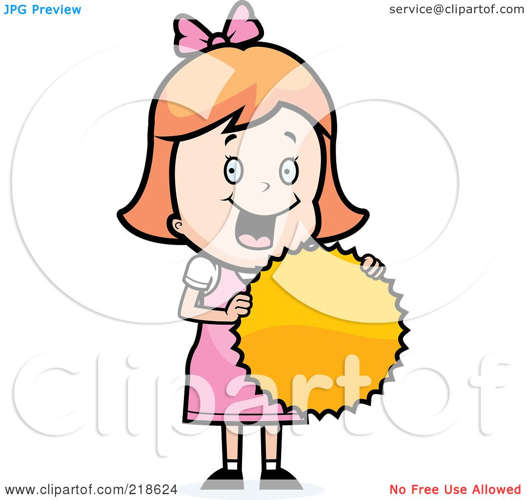 Happy Girl Clipart Free