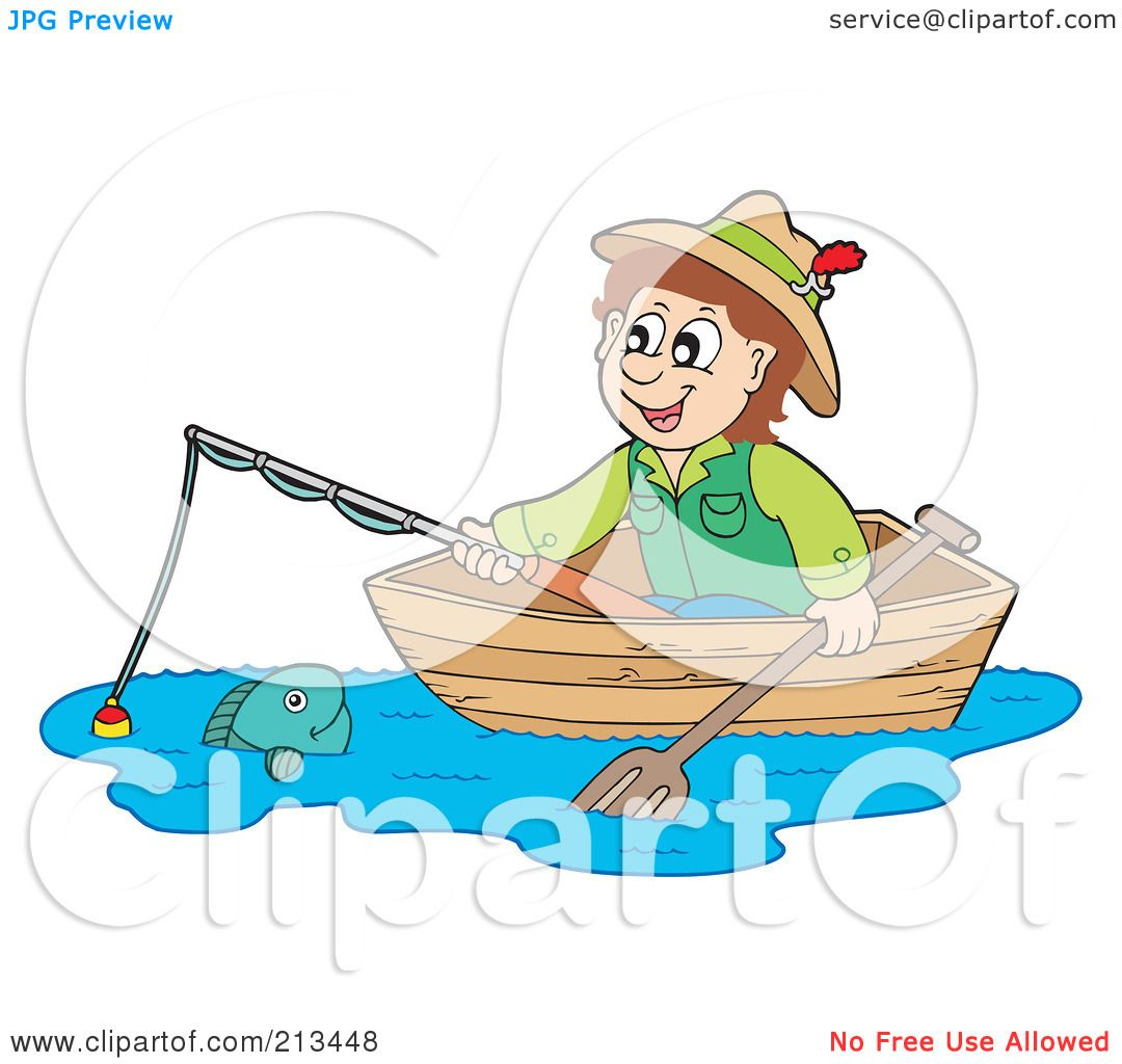 Royalty-Free (RF) Clipart Illustration of a Happy Man ... Underwater Clipart Black And White