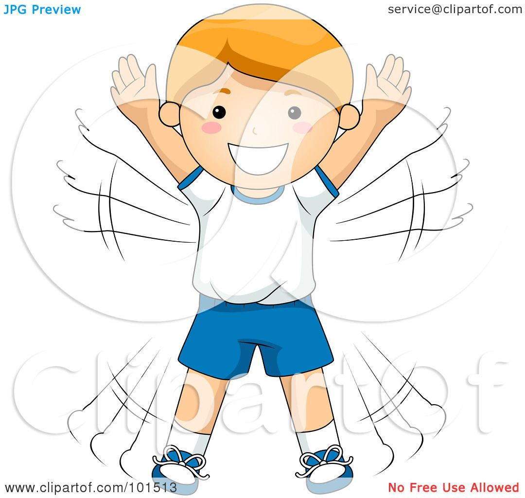 Royalty-Free (RF) Clipart Illustration of a Happy Red ...
