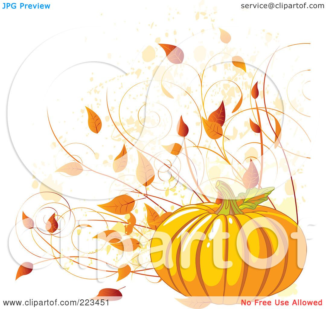 Royalty Free RF Clipart Illustration Of A Harvest