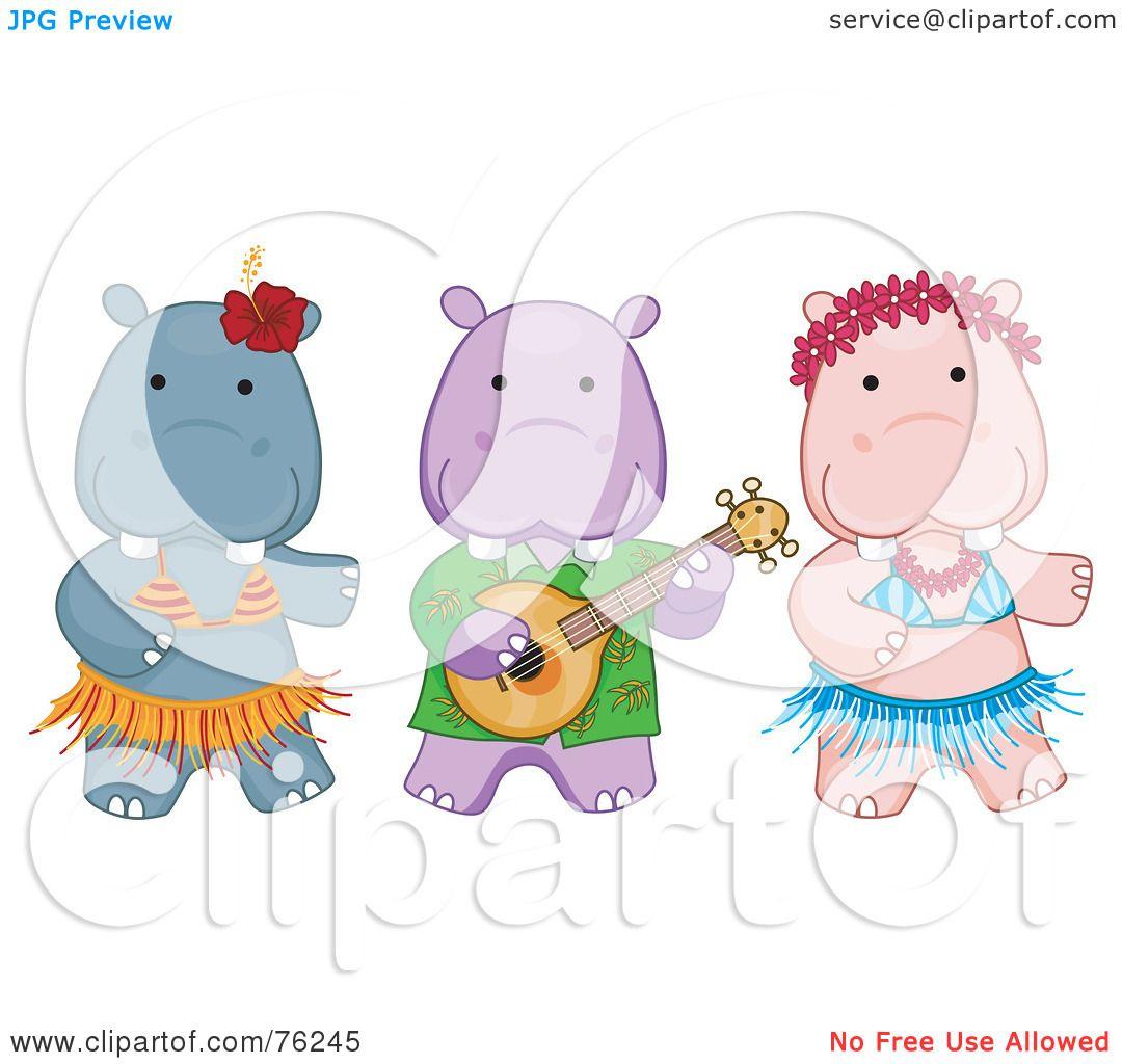 Hawaiian Luau Clip Art Royalty-free (rf) clipart