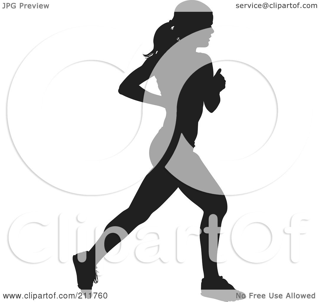 Royalty-Free (RF) Clipart Illustration of a Healthy Black ...