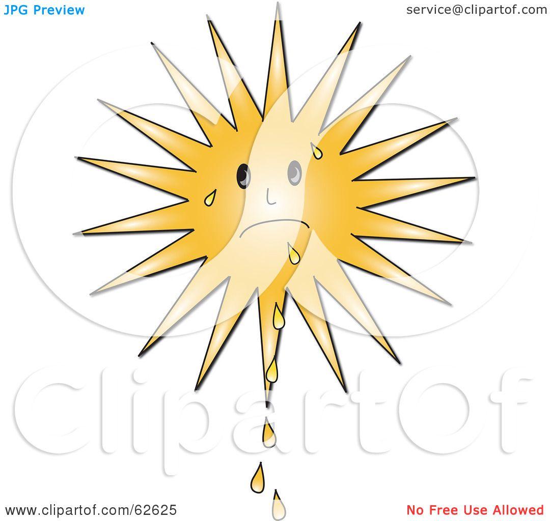 Royalty Free Rf Clipart Illustration Of A Hot Summer Sun