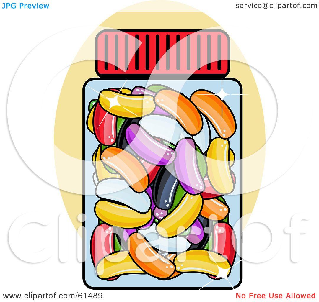 Jelly Bean Clip Art - 51 cliparts |Jelly Bean Jar Clipart
