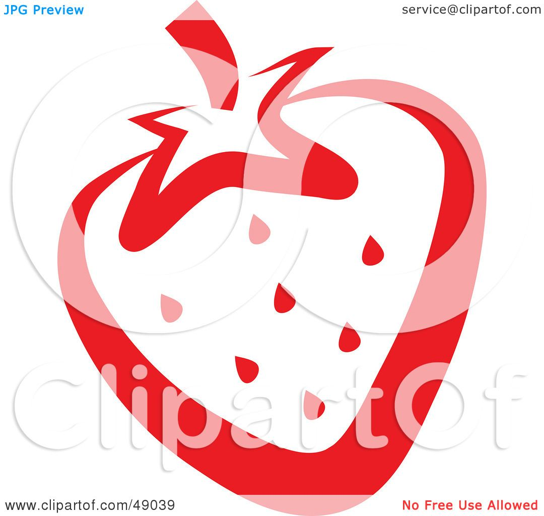 Royalty-Free (RF) Clipart Illustration of a Juicy Red ...