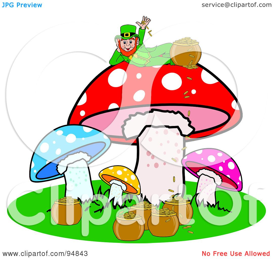 royalty free rf clipart illustration of a happy st patricks day