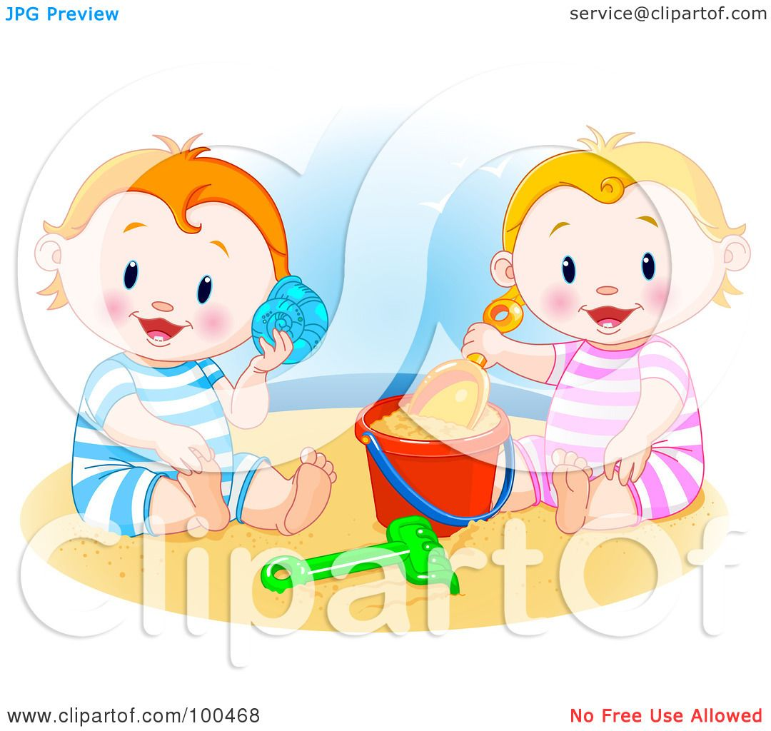 Royalty Free Rf Clipart Illustration Of A Little Boy And