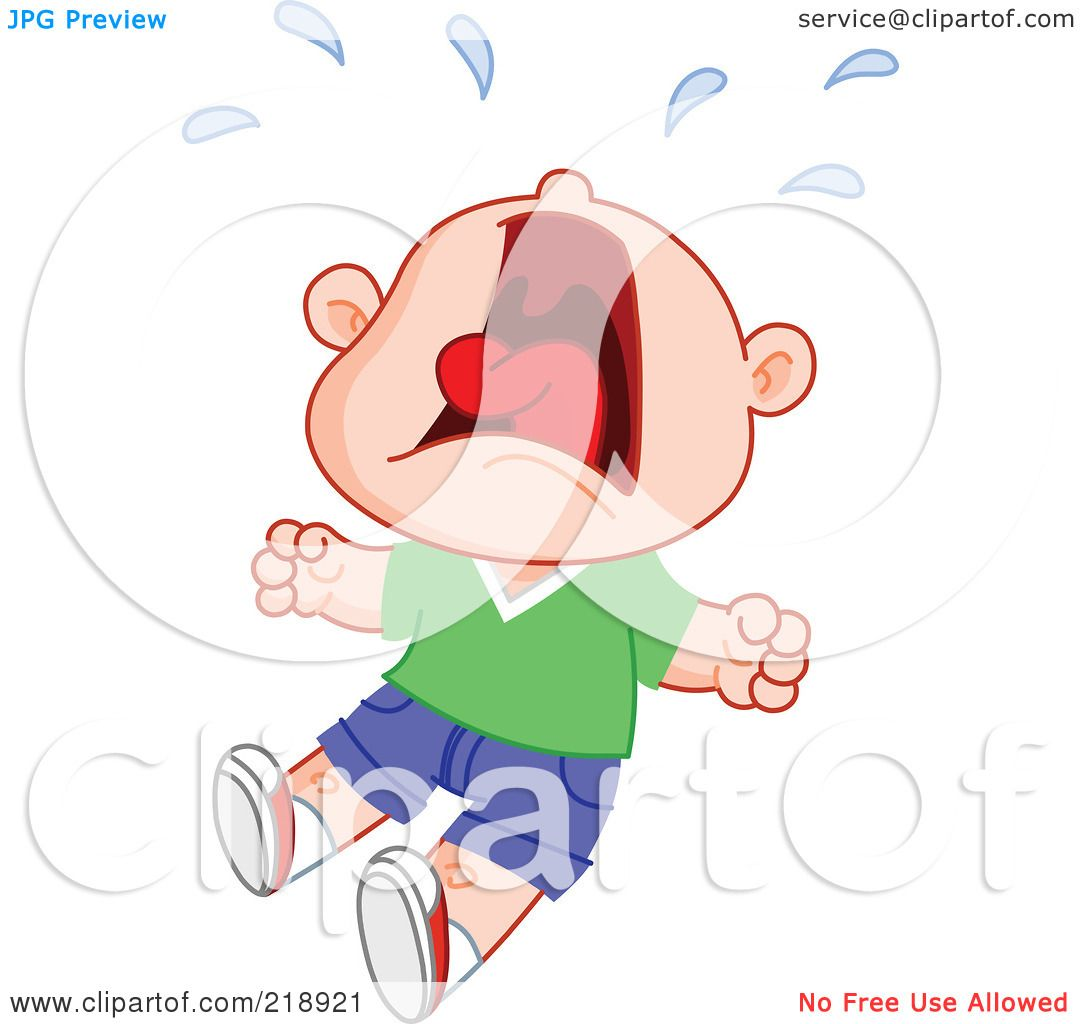 Royalty Free RF Clipart Illustration Of A Little Boy