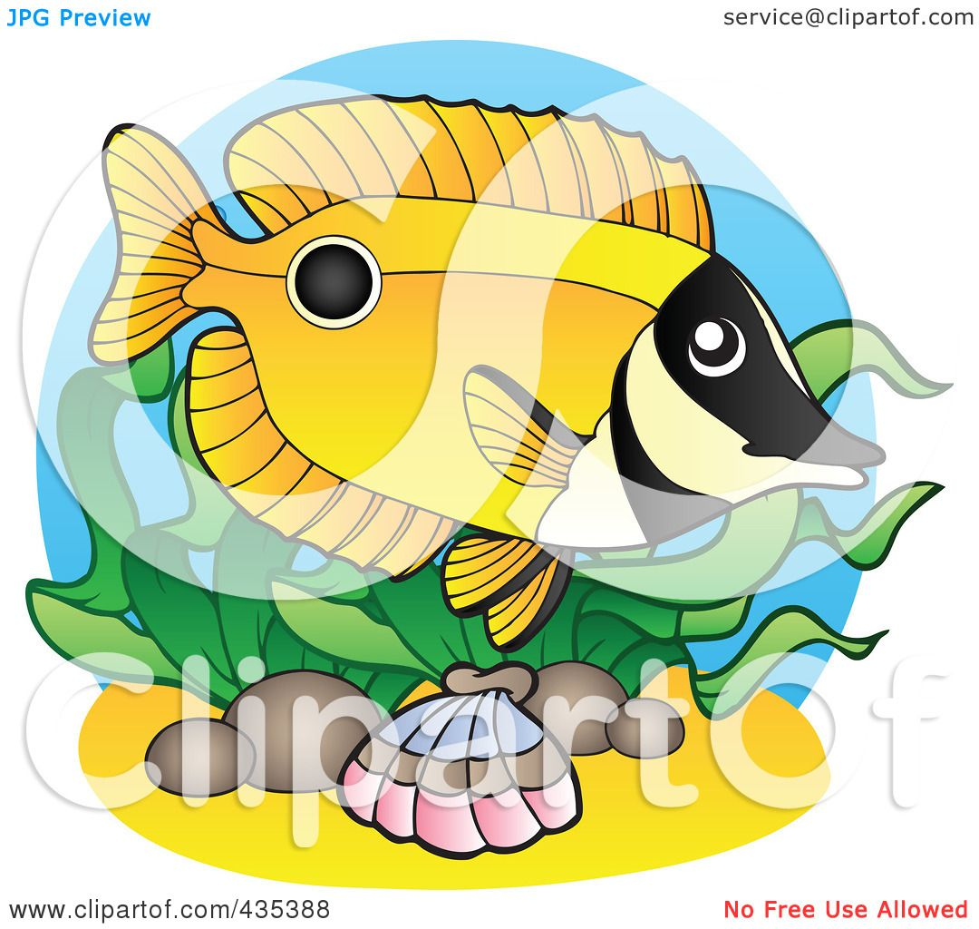 Clip Art School Of Fish Royalty-free (rf) clipart