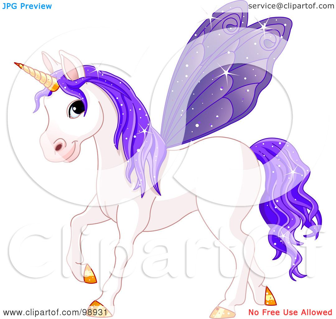 Royalty Free Rf Clipart Illustration Of A Magical Fairy