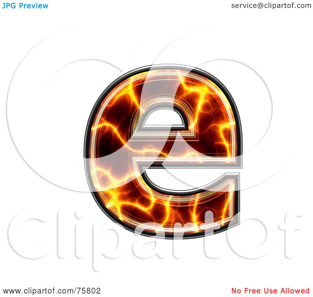 royalty free rf clipart illustration of a magma symbol