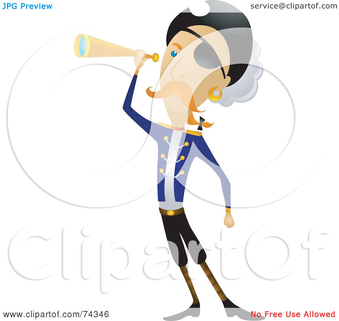pirate telescope clipart - photo #32