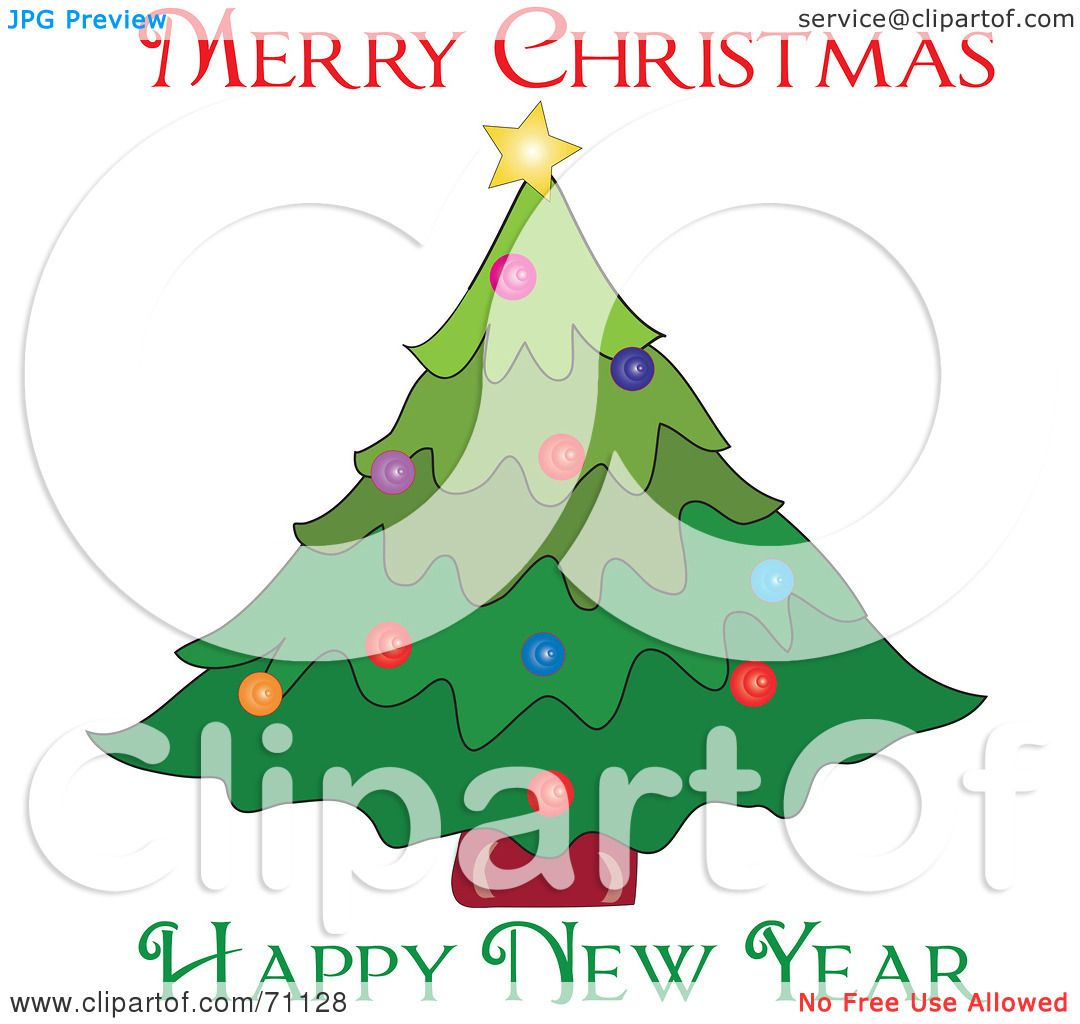 Royalty-Free (RF) Clipart Illustration of a Merry ...