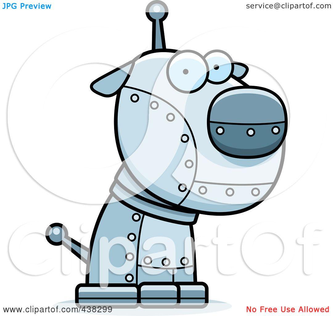 Robotic Dog Drawing Robotic Dog by Cory Thoman