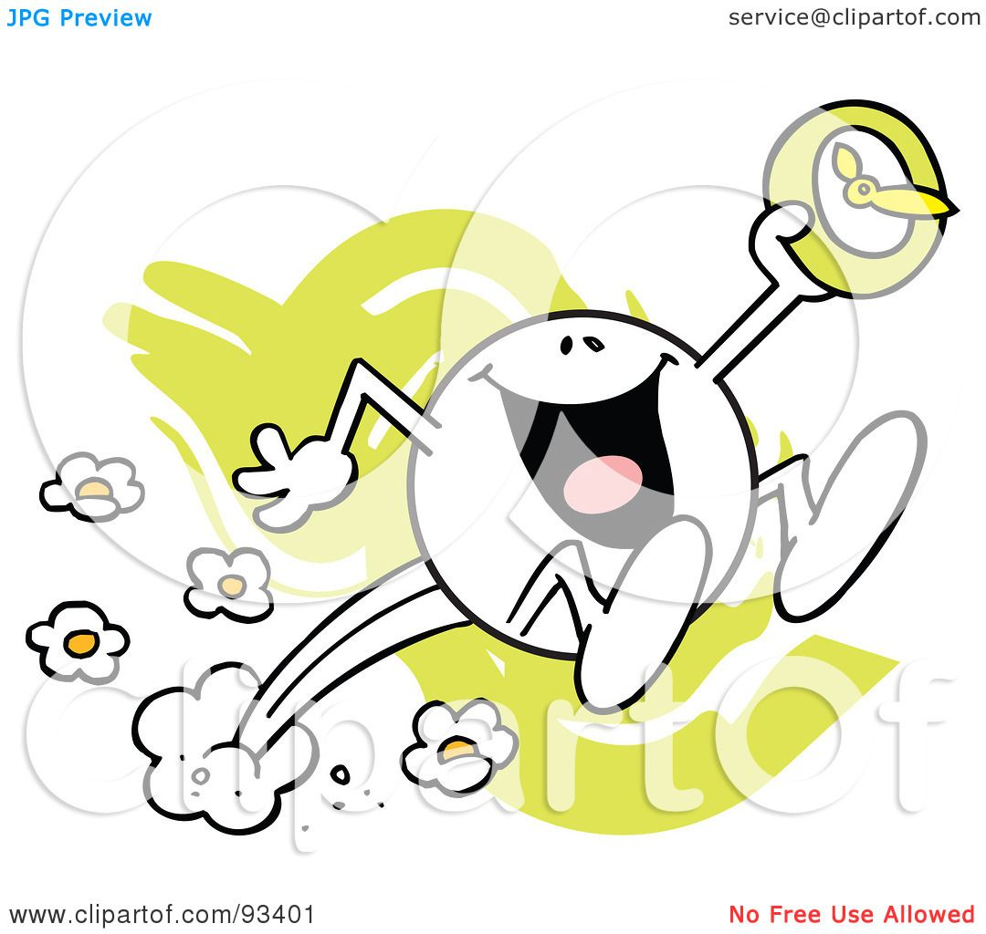 Royalty-Free (RF) Clipart Illustration of a Moodie Character With ...