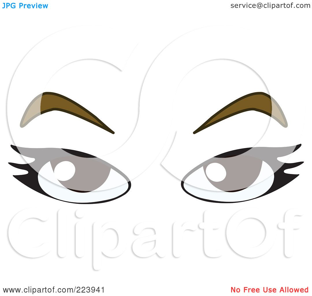 Bushy Eyebrows Clipart Bushy Eyebrow Clip Art