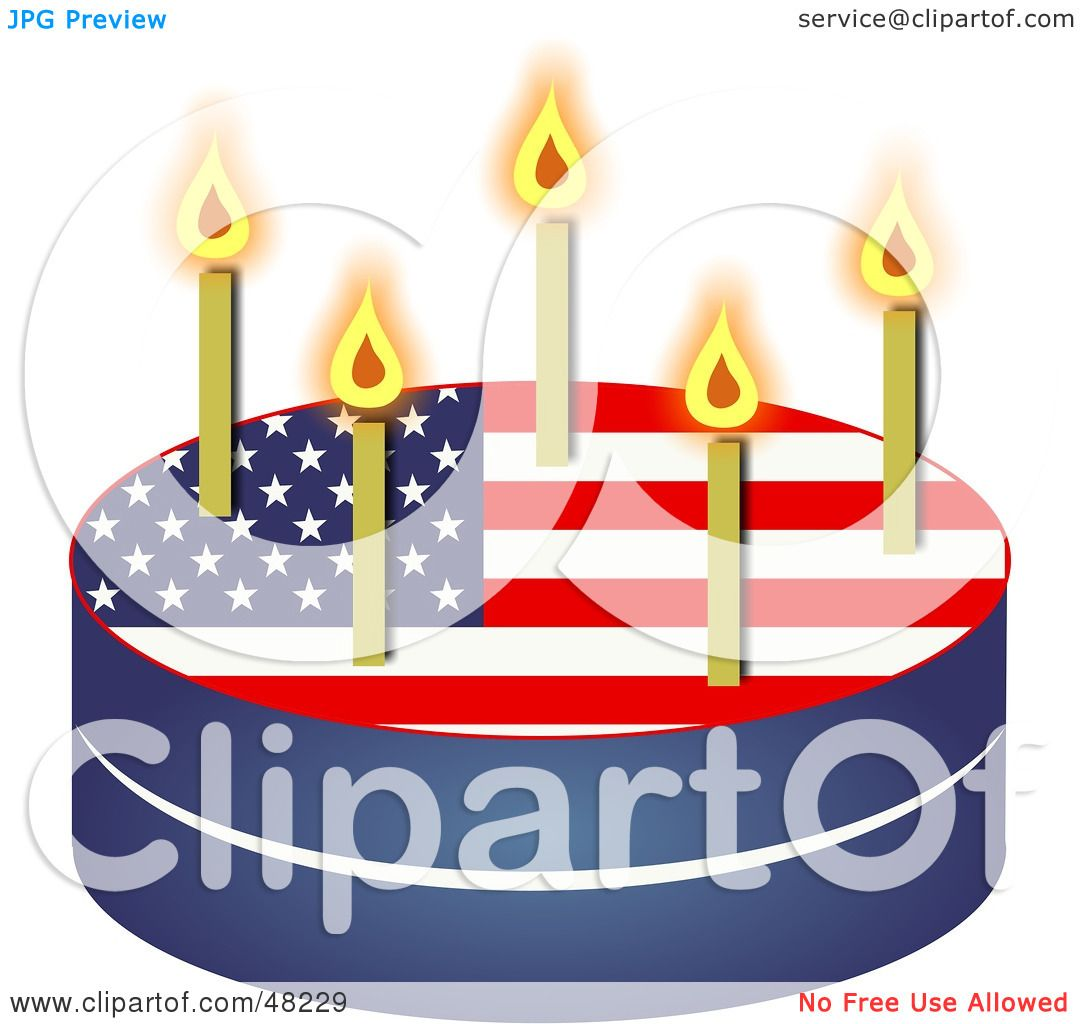 Royalty Free Rf Clipart Illustration Of A Patriotic