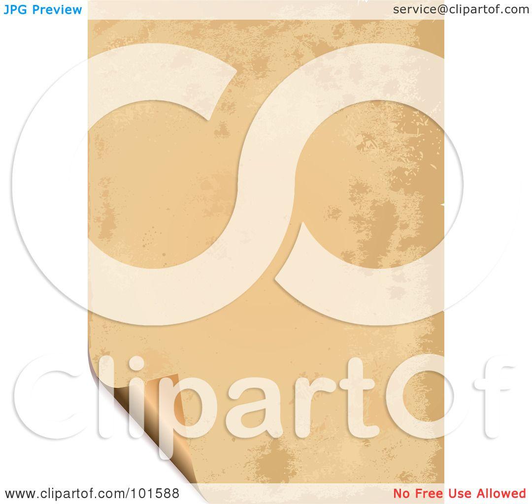 Parchment Paper Image Parchment Paper Clipart
