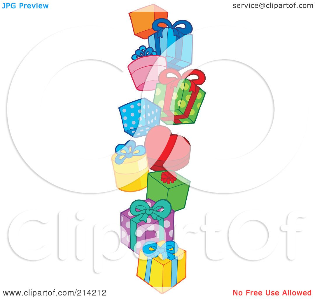 Royalty-Free (RF) Clipart Illustration Of A Pile Of