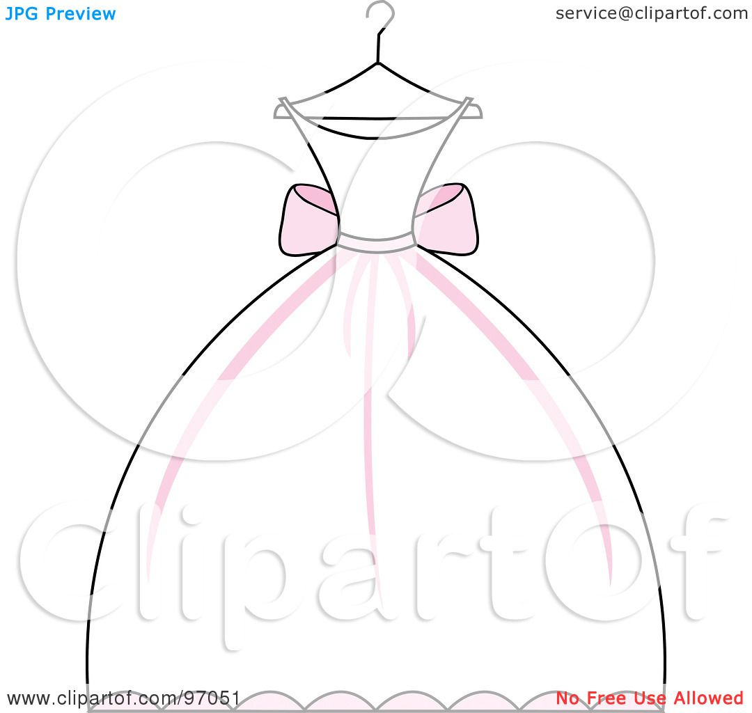 cartoon wedding dress