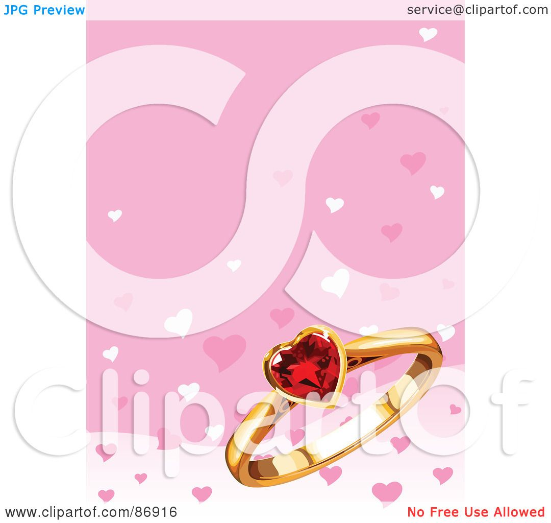 Royalty-Free (RF) Clipart Illustration of a Pink Background With A ...