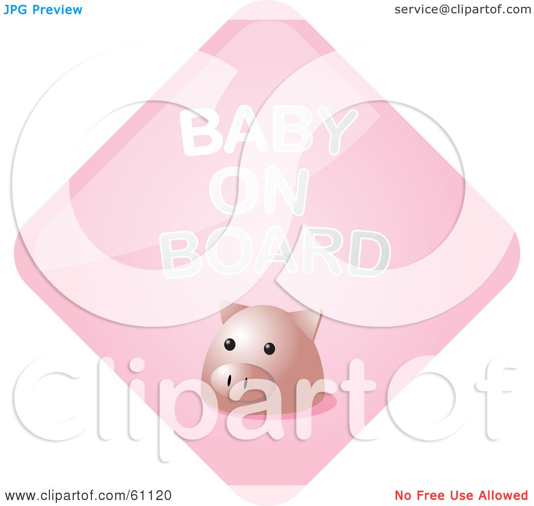 clipart baby on board-#49