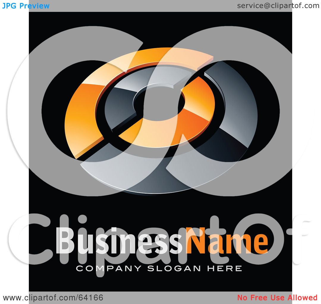 Royalty Free Rf Clipart Illustration Of A Pre Made Logo