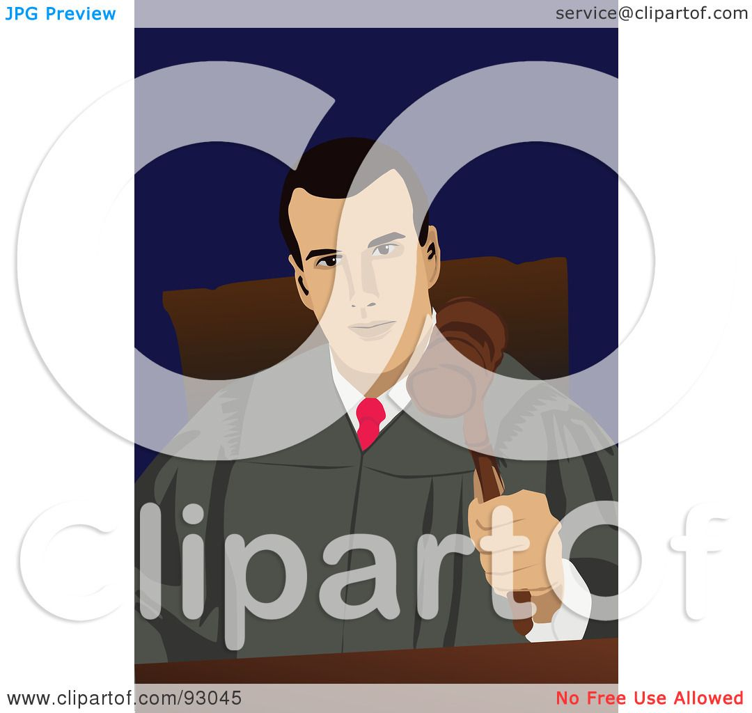 Royalty-Free (RF) Clipart Illustration of a Professional Male ...