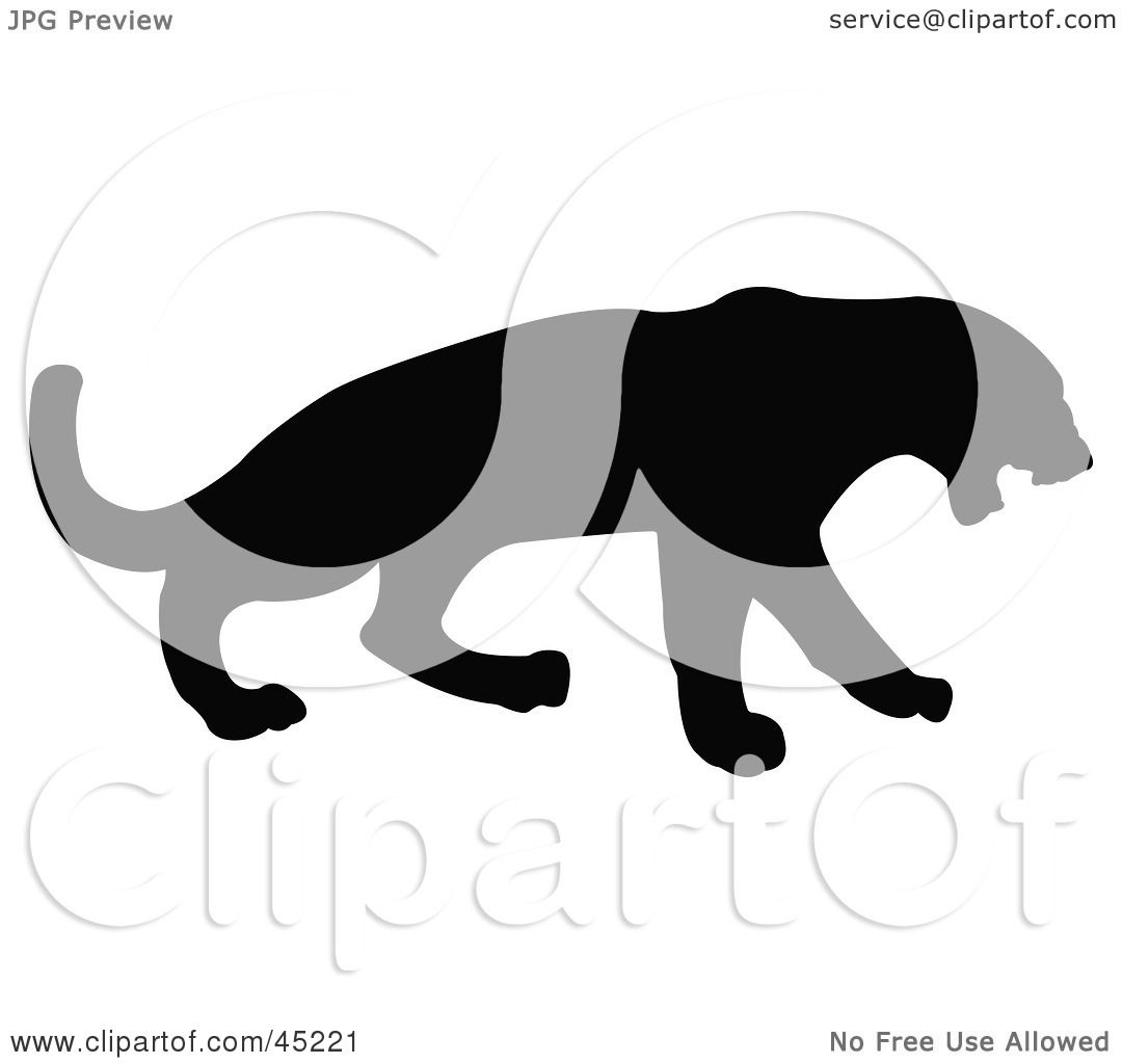 Displaying 19> Images For - Panther Silhouette...