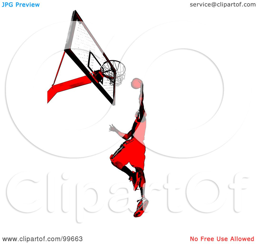 Royalty Free Rf Clipart Illustration Of A Red And Black