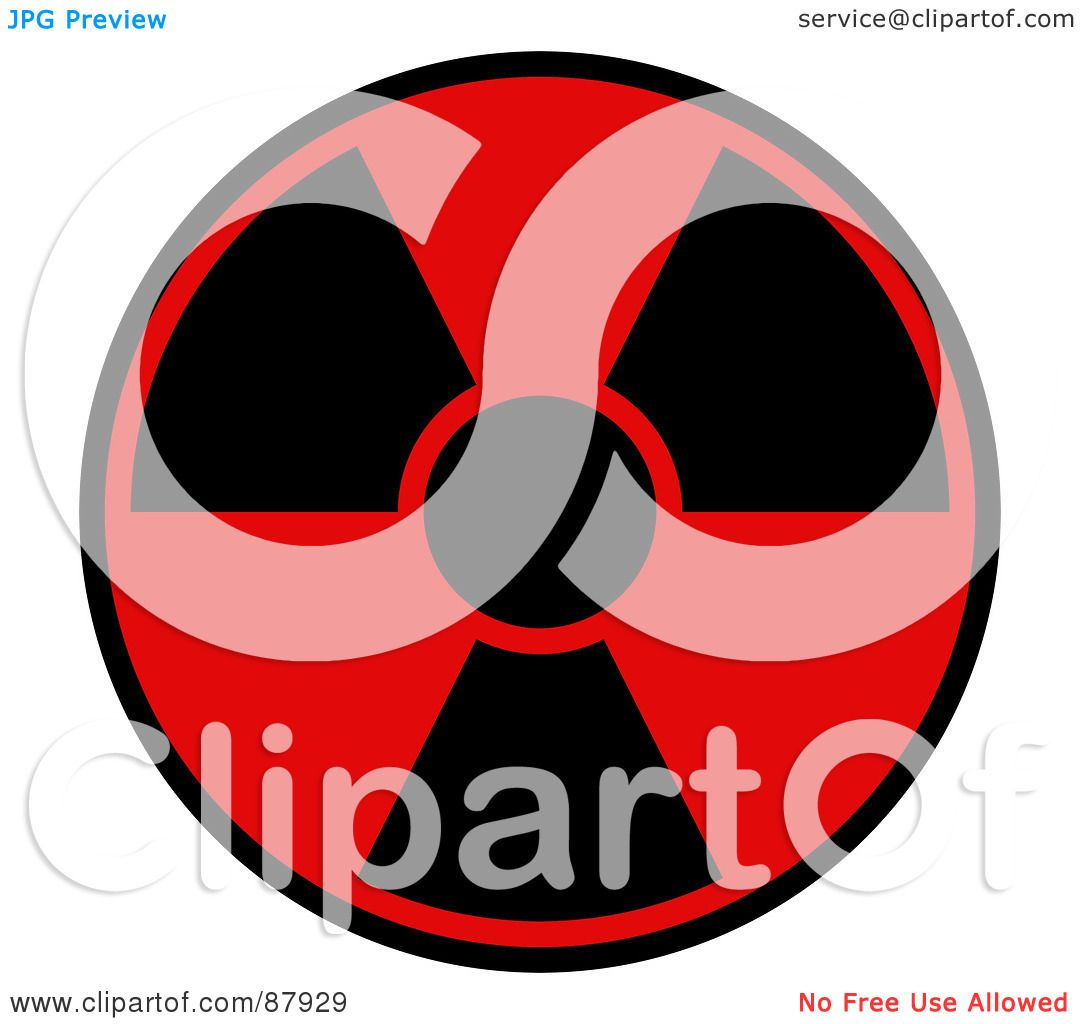 Royalty free rf clipart illustration of a red and black royalty free rf clipart illustration of a red and black radiation warning symbol by oboy buycottarizona Image collections