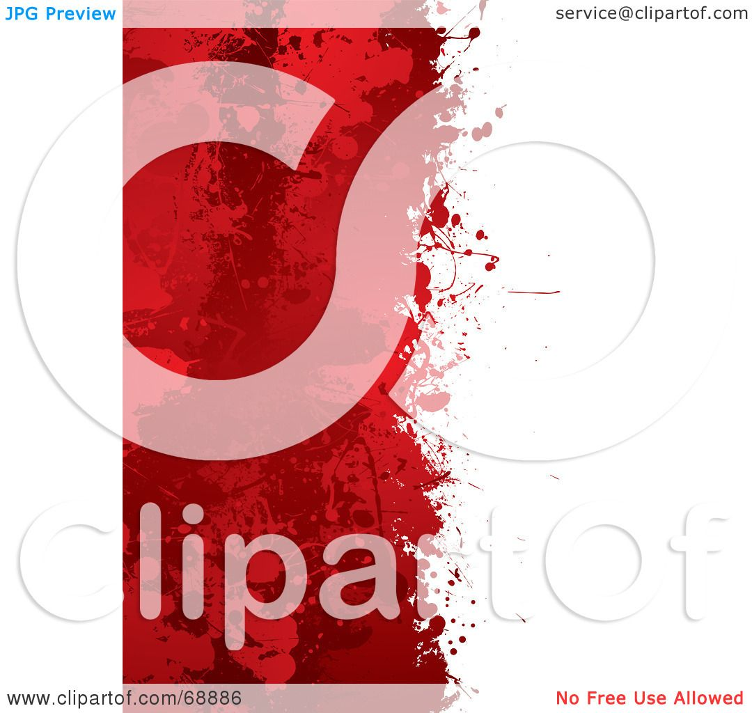 Royalty Free Rf Clipart Illustration Of A Red And White