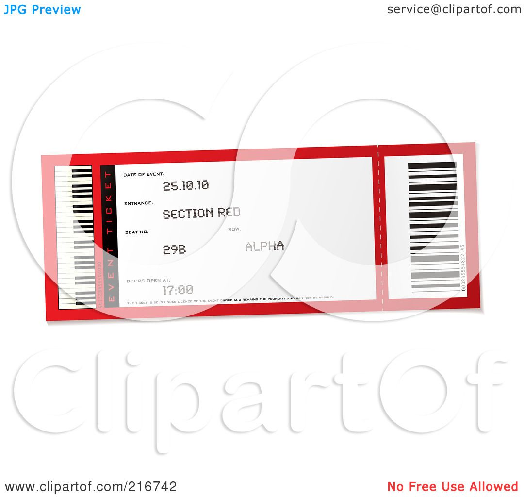 Ticket Stub Template Without Pictures to Pin PinsDaddy – Blank Concert Ticket Template