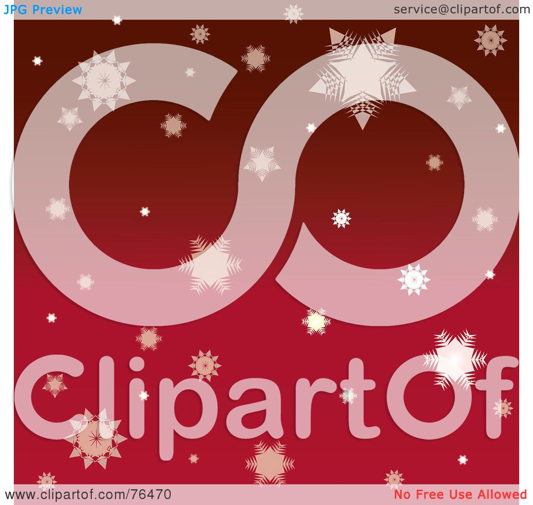 Displaying 19> Images For - Red Snowflakes Clipart...