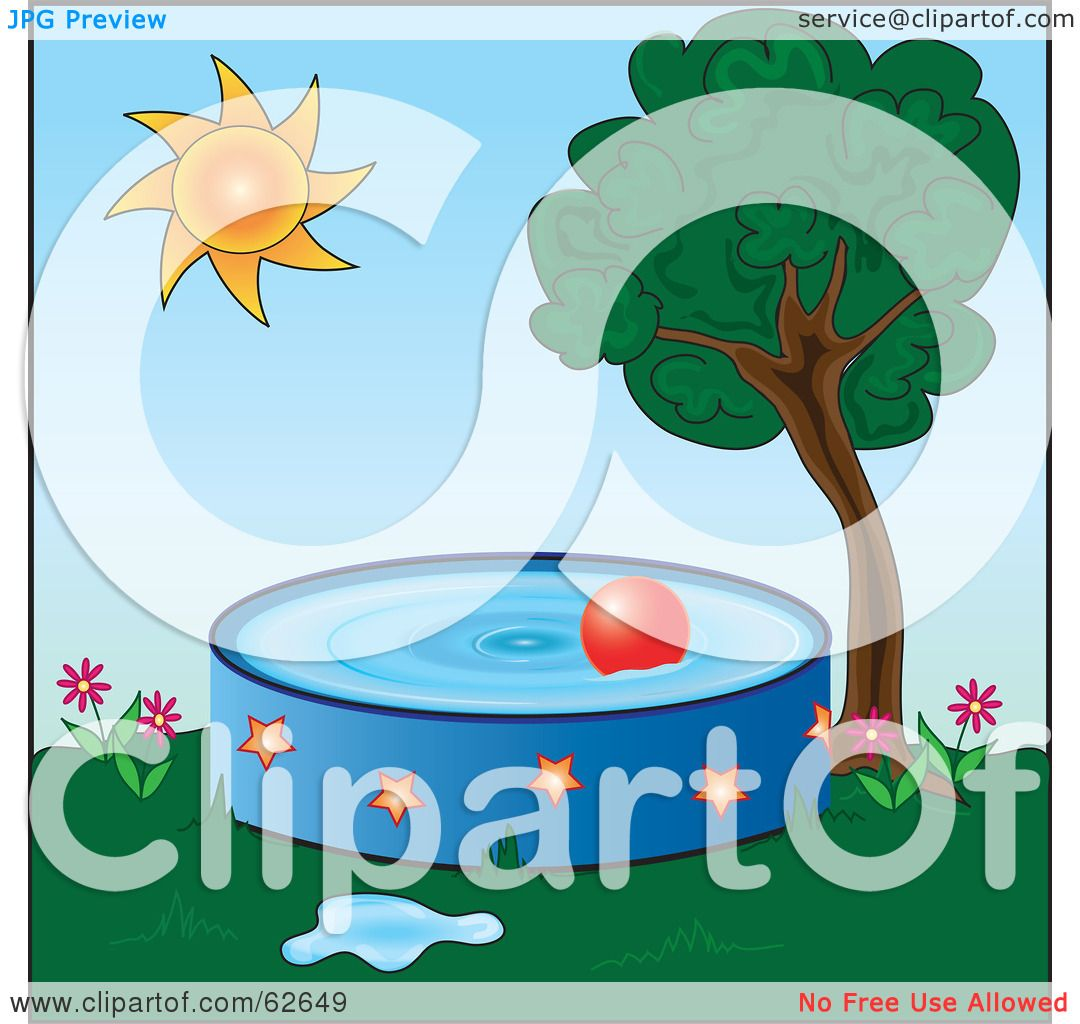 Royalty Free Rf Clipart Illustration Of A Red Ball