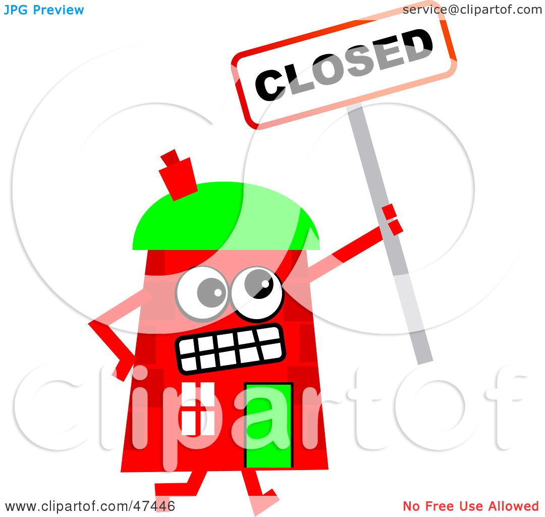 Office Closed Illustrations, Royalty-Free Vector Graphics ...  Cartoon Closed