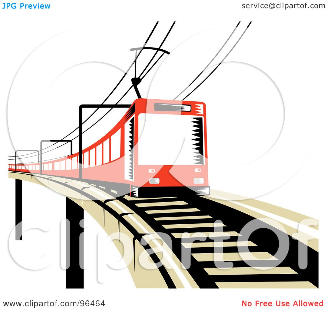 electric train clipart black and white - photo #27