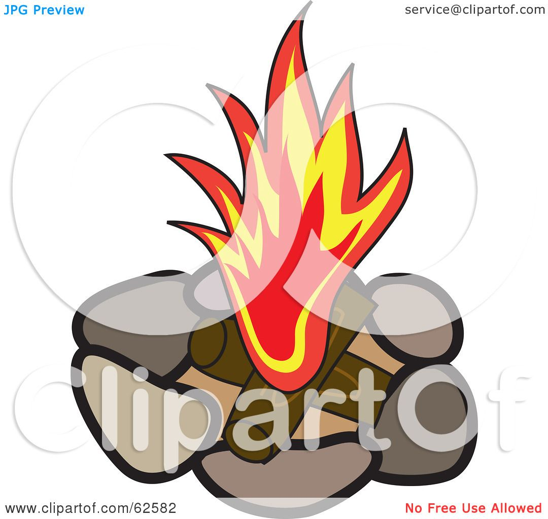 free clip art fire pit - photo #11
