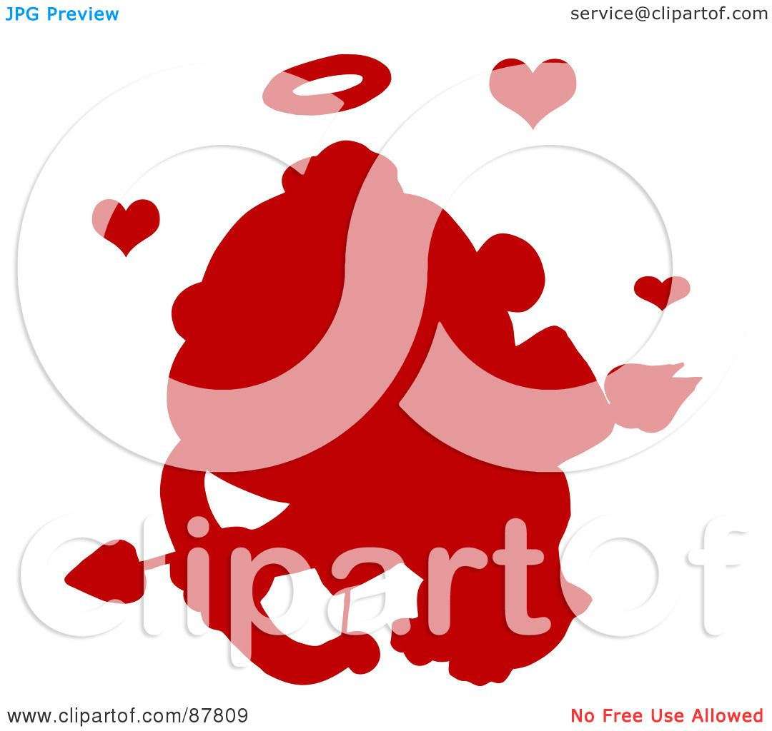 Royalty-Free (RF) Clipart Illustration of a Red ...