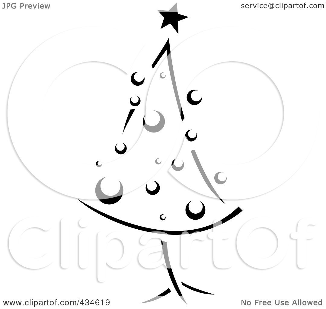 royalty free rf clipart illustration of a retro black and white