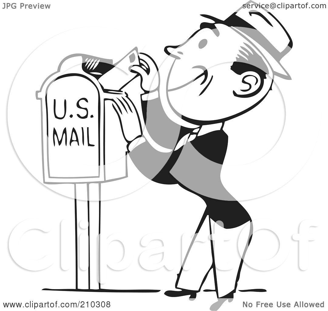 Victorian Mailbox Clip Art