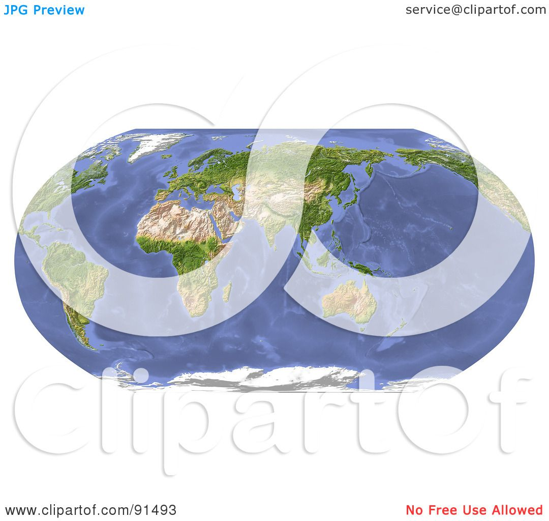 Royalty free rf clipart illustration of a robinson projection royalty free rf clipart illustration of a robinson projection world map centered on india by michael schmeling gumiabroncs Image collections