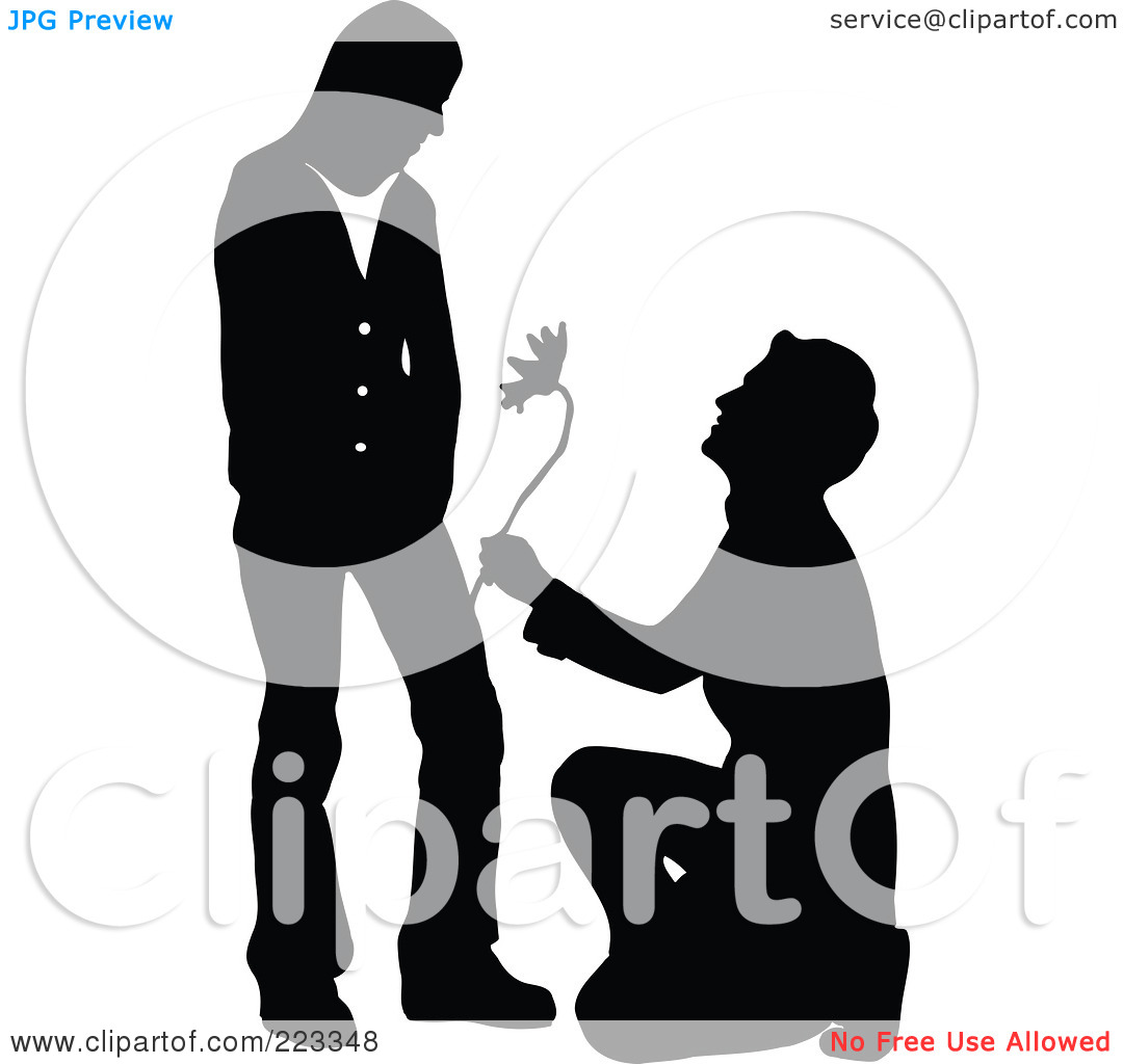 ... Romantic-Man-Kneeling-And-Giving-A-Flower-To-A-Woman-1024223348.jpg